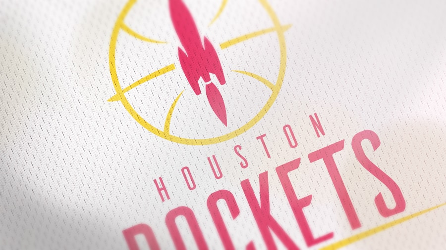 Addison Foote Houston Rockets NBA Logo Redesign Mock-Up