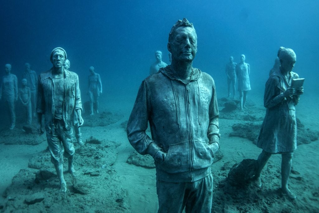 Jason deCaires Taylor Rubicon Underwater Sculpture