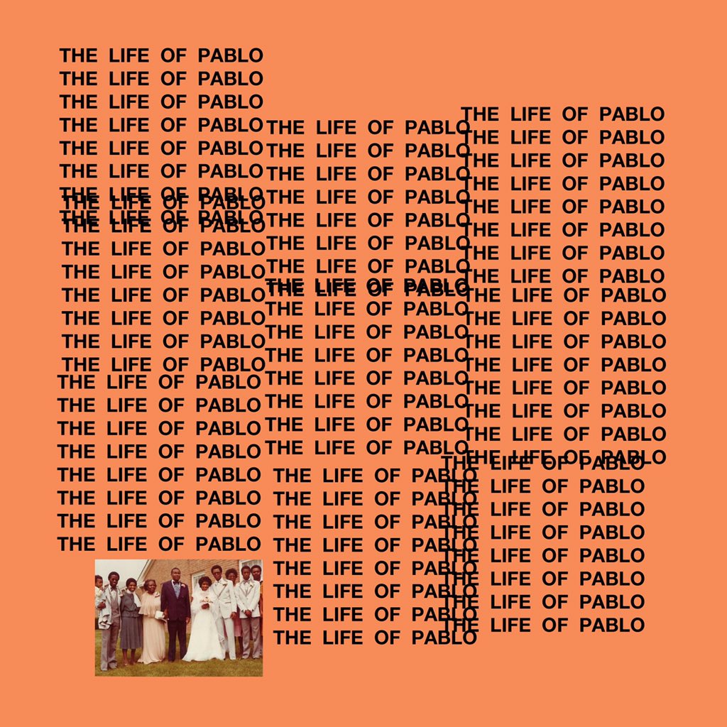 Kanye West - The Life of Pablo Album Cover
