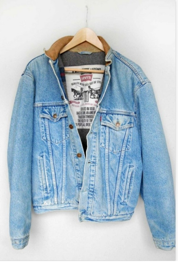 Normcore Levis Denim Jacket