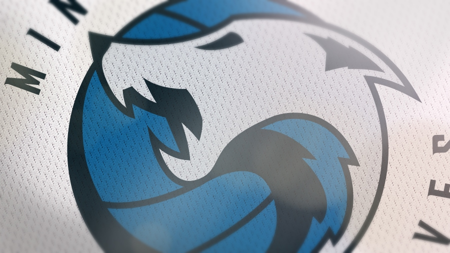 Addison Foote Minnesota Timberwolves NBA Logo Redesign Mock-Up