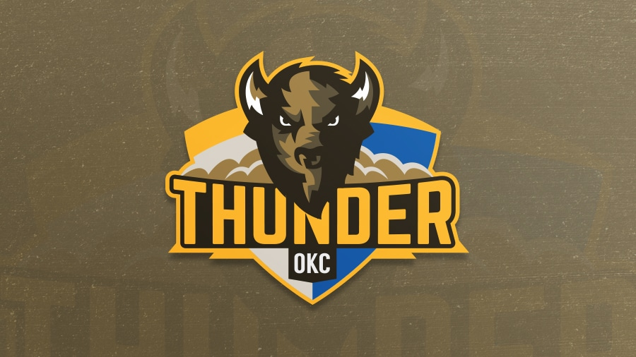 Addison Foote Oklahoma City Thunder NBA Logo Redesign