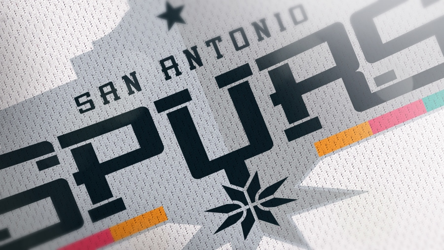 Addison Foote San Antonio Spurs NBA Logo Redesign Mock-Up