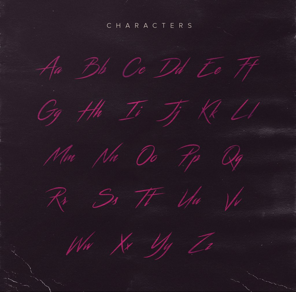 Streamster Free 80's Font