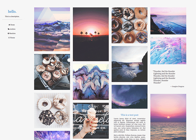 60+ Best Free Minimal Tumblr Themes 2019 - Hipsthetic