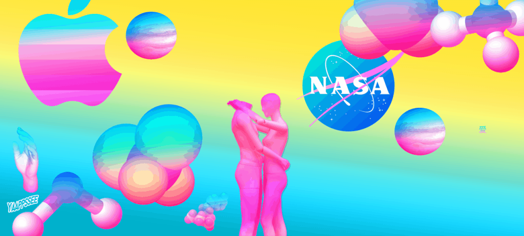NASA by Yaappssee