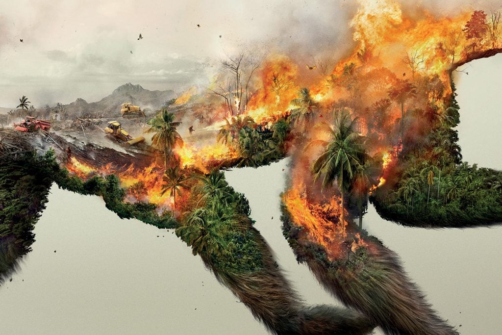 Destroying Nature Is Destoying Life Poster Series