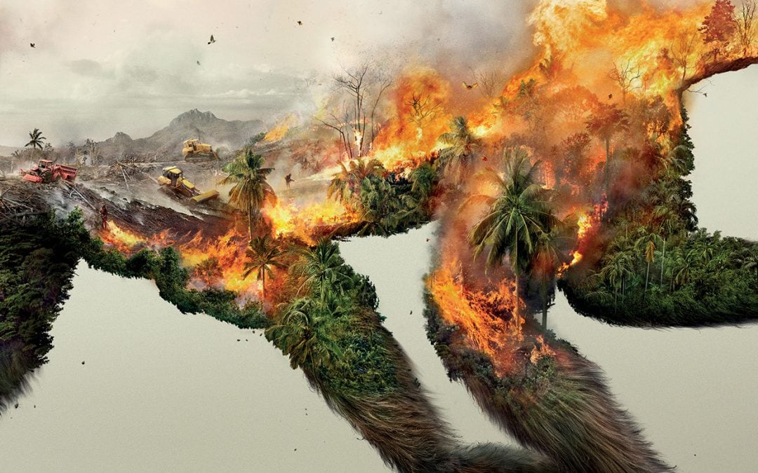 Powerful Eco-Art – Destroying Nature Is Destroying Life