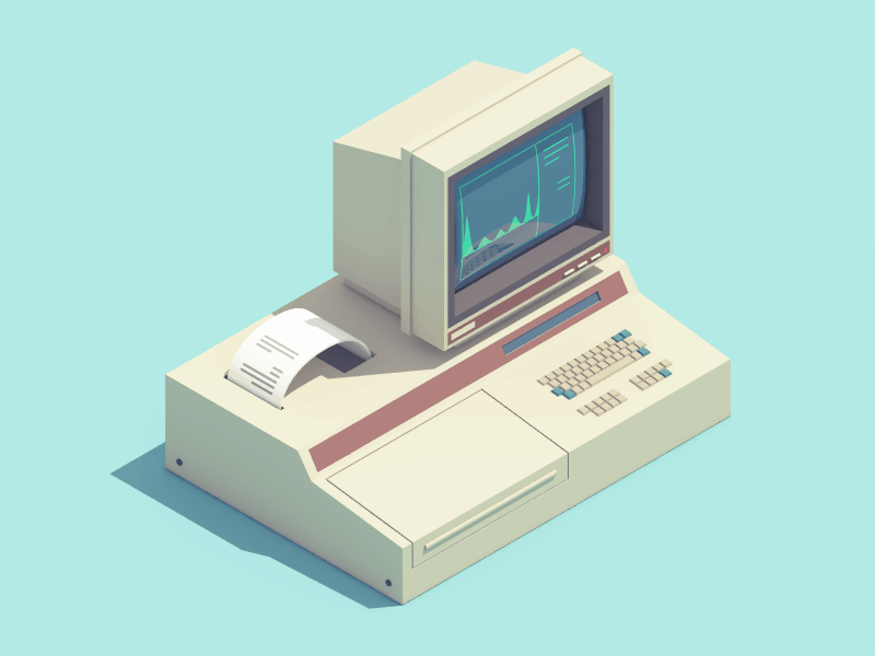 These Super Cute Animated GIF's Revive Retro Electronics