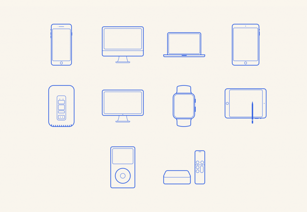 Free Apple Icon Set