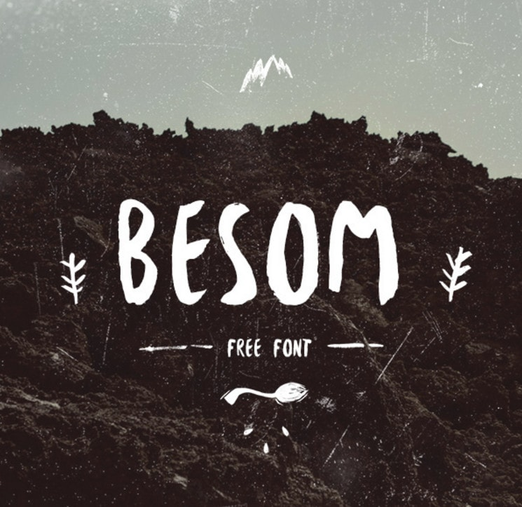 Besom - Free Font