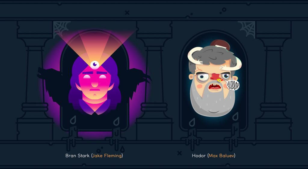 Game of Heads Illustrations