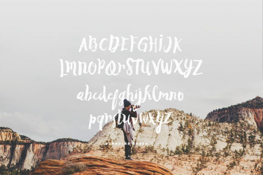 Duwhoers Brush - Free Font