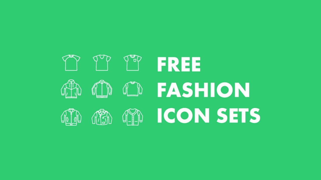 The Best 8+ Free Fashion Vector Icon Sets , Hipsthetic