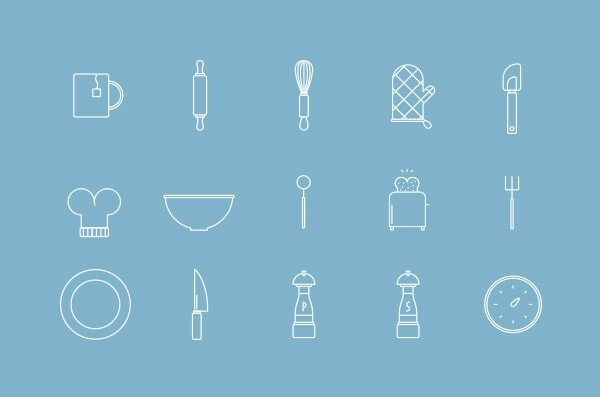Free Cooking Vector Icons