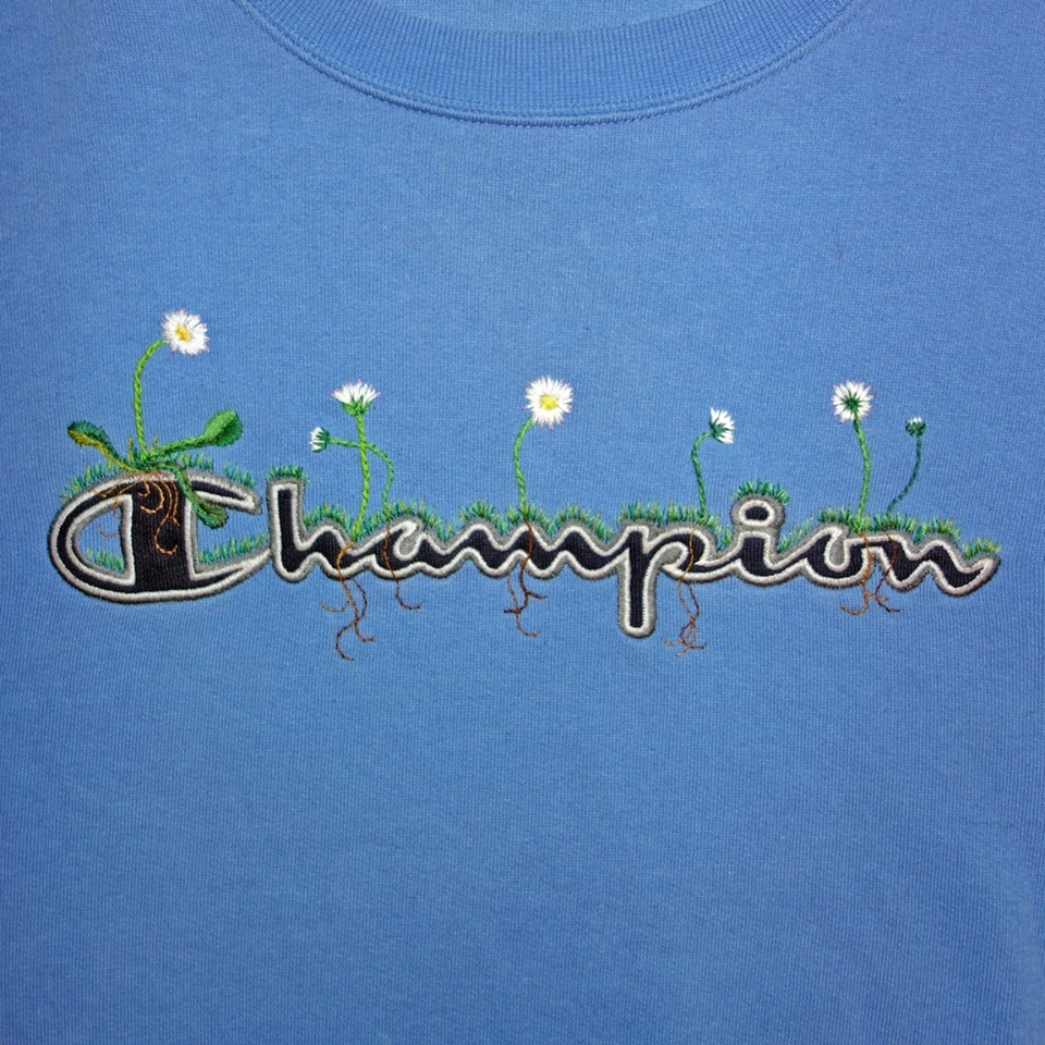 James Merry Embroidery - Champion