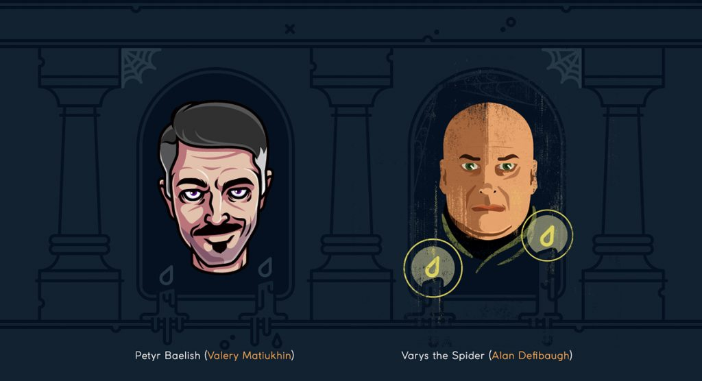 Petyr and Varys - Game of Thrones