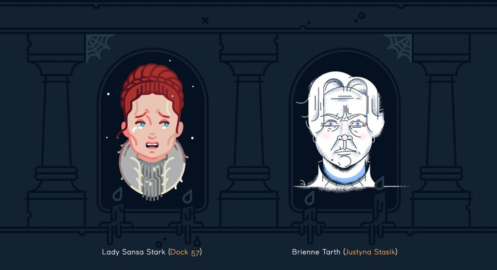 Sansa and Brienne - Game of Thrones