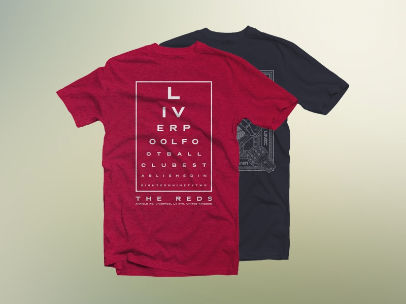 Free T-shirt Mockup (Front,Back & Folded)