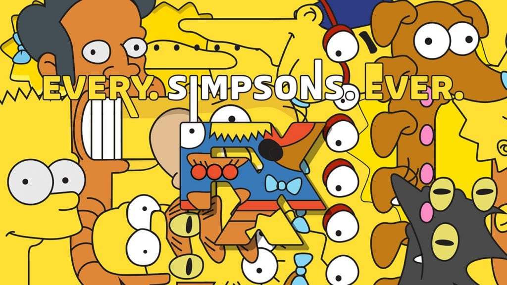 The Simpsons FXX IDs
