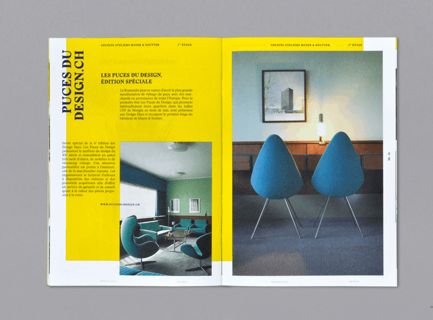 Swiss Style Brochure for Design Days 2014