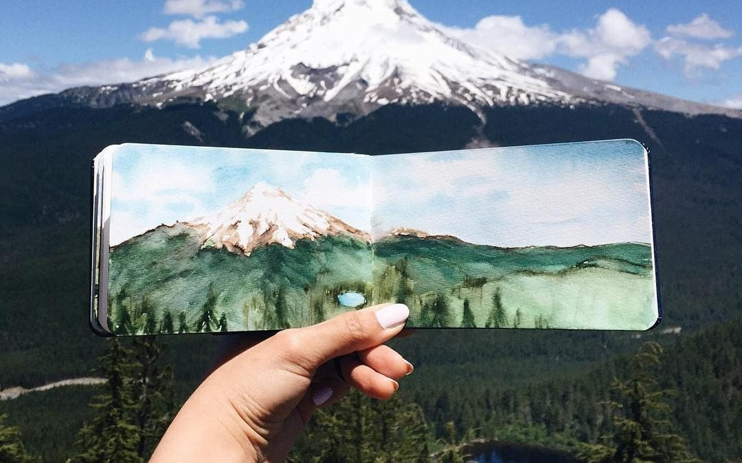 Hannah Jesus's Gorgeous Illustrations Framed By Their Subjects
