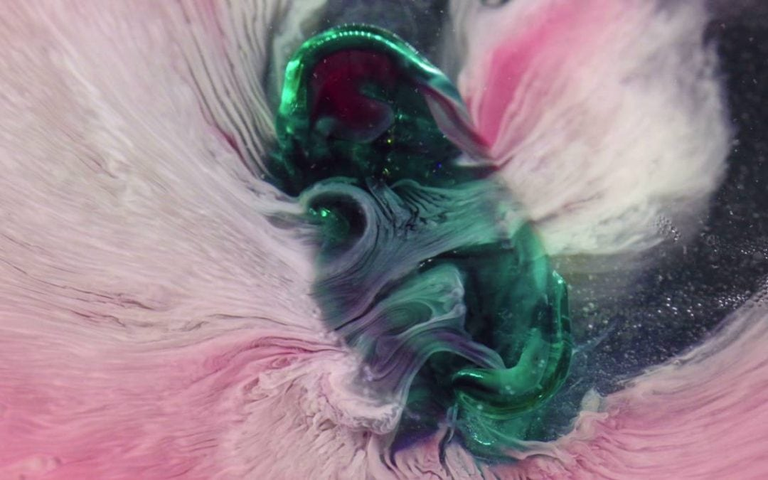 GIFs: Surprisingly Pretty Dissolving Pills