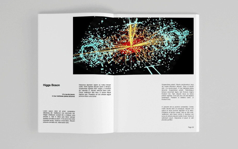 Swiss Style Large Hadron Collider Guidebook by Matthew Blick