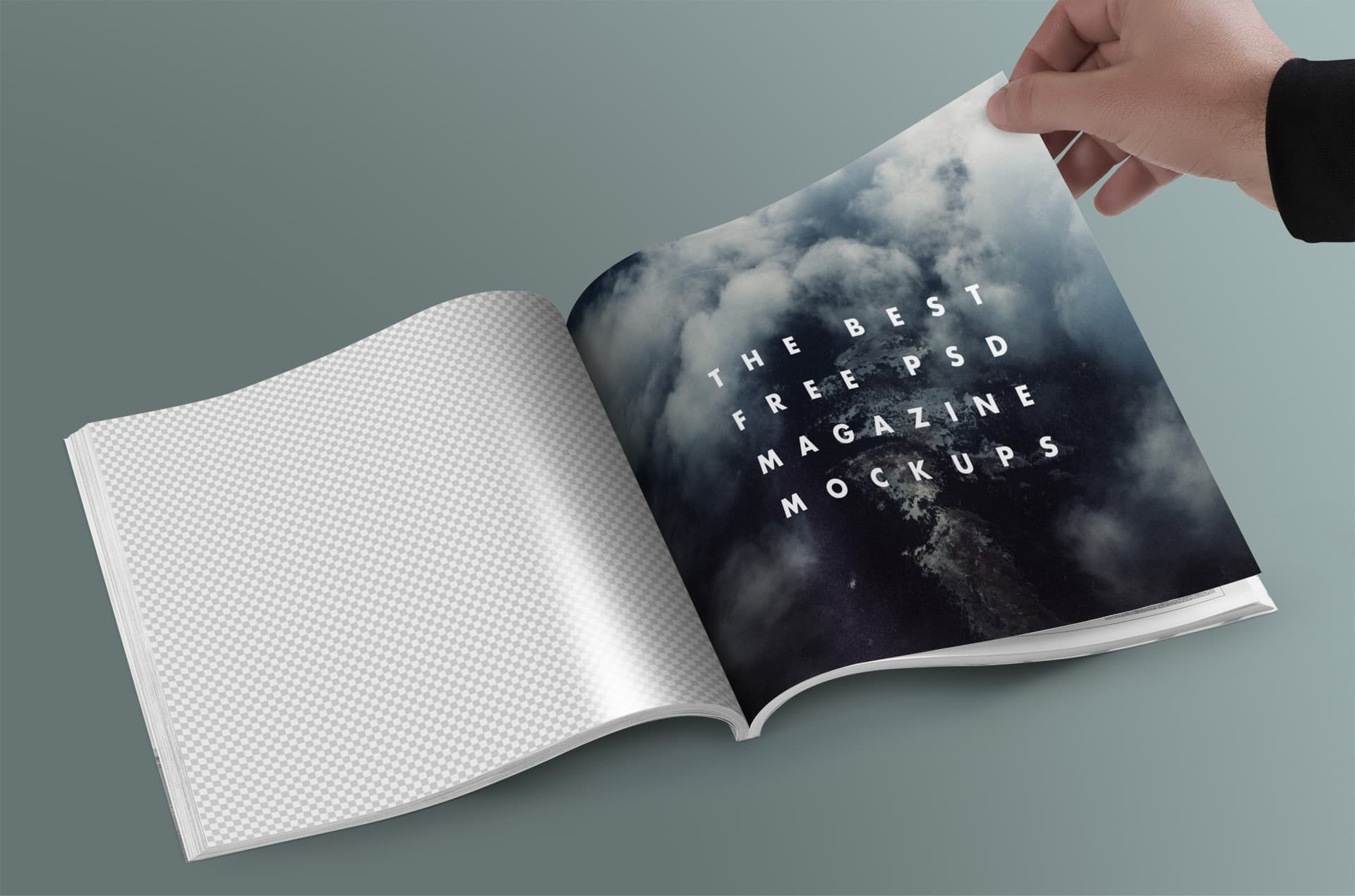 The Best Free PSD Magazine Mock-Ups