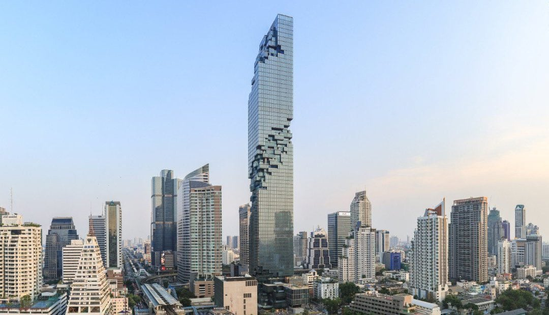 Thailand's New Tallest Building Doesn't Actually Look Real