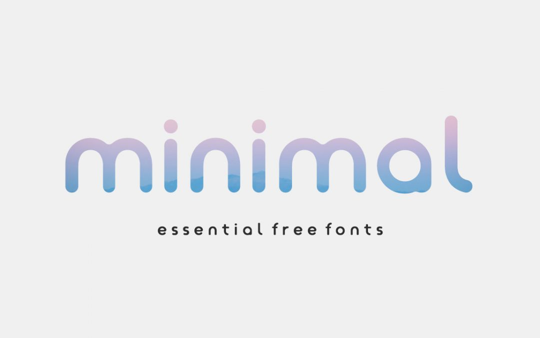16+ Essential FREE Minimal Fonts