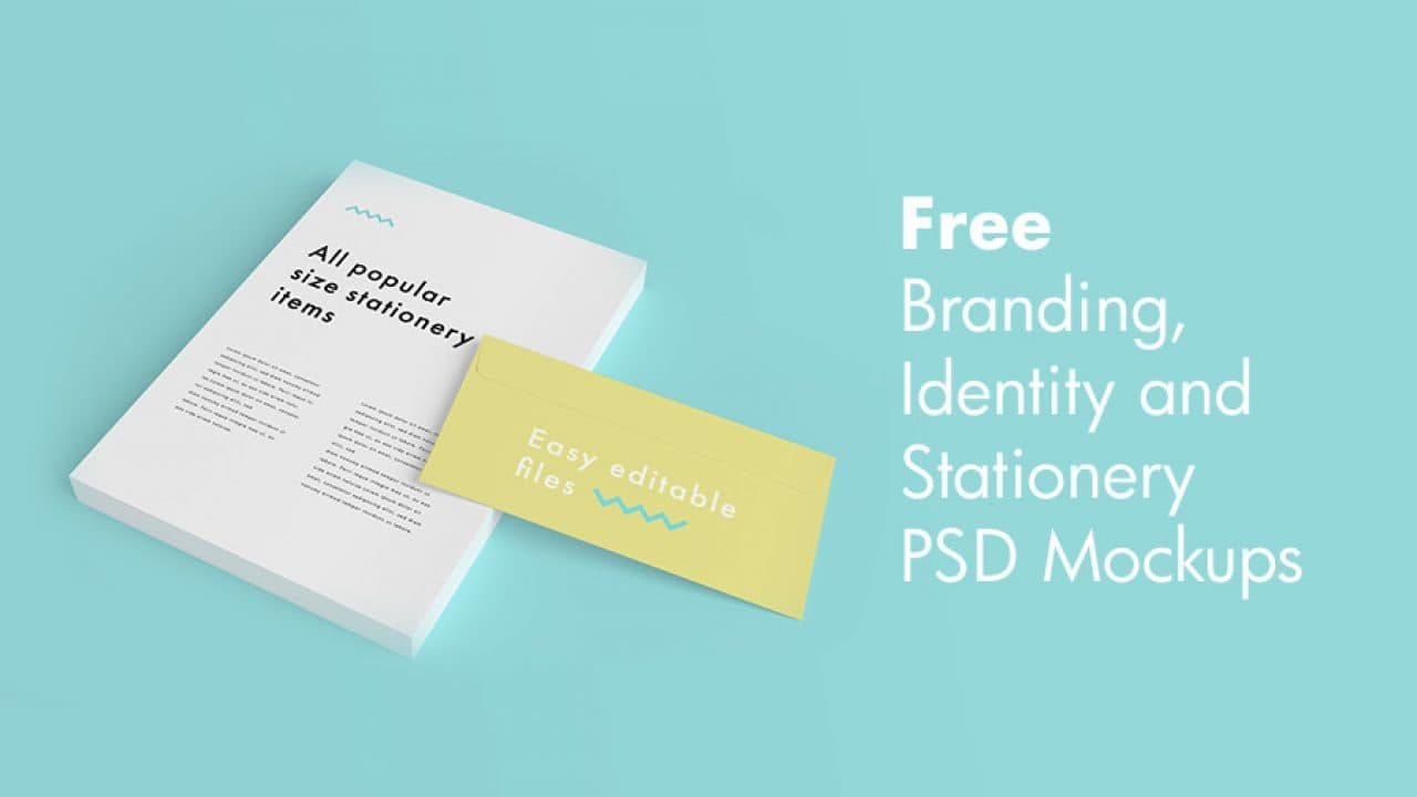 The Best 31 Free Branding, Identity, and Stationery PSD MockUps