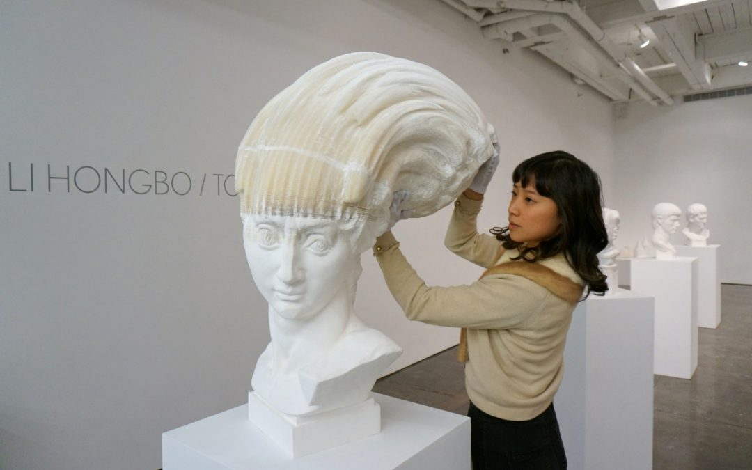 Li Hongbo's Paper Sculptures in 9 Awesome GIFs