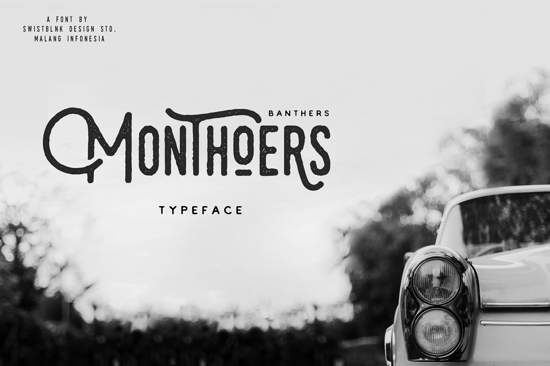 Free Hipster Font - Monthoers
