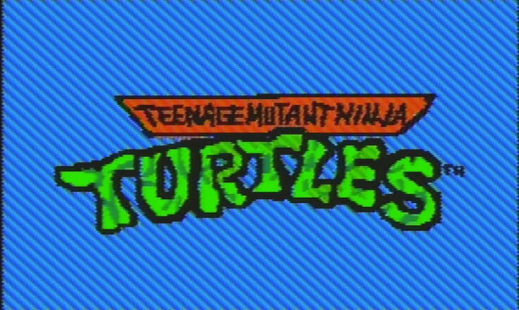 Somebody Actually Animated The 1987 TMNT Intro In Mario Paint