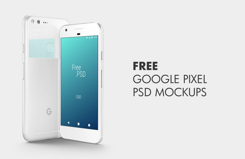 The Best FREE Google Pixel PSD Mockups