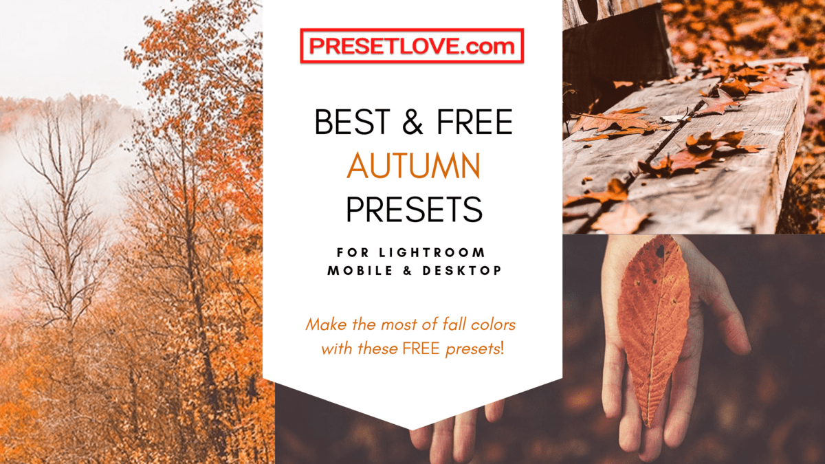 Free Autumn Lightroom Presets by Preset Love