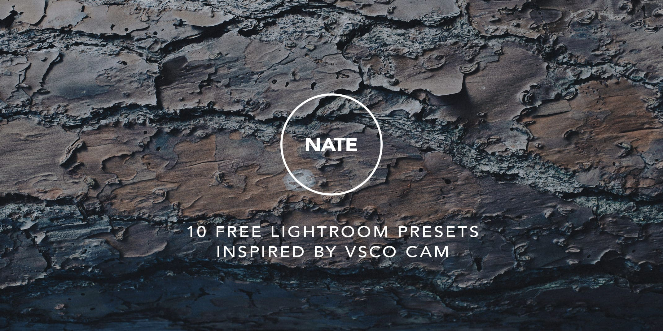NATE CAM VSCO Lightroom Presets Pack