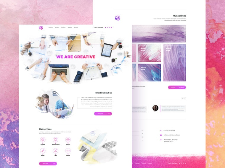 creative-watercolor-inspiration-template