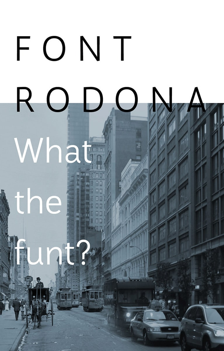 Rodona Font clean and modern