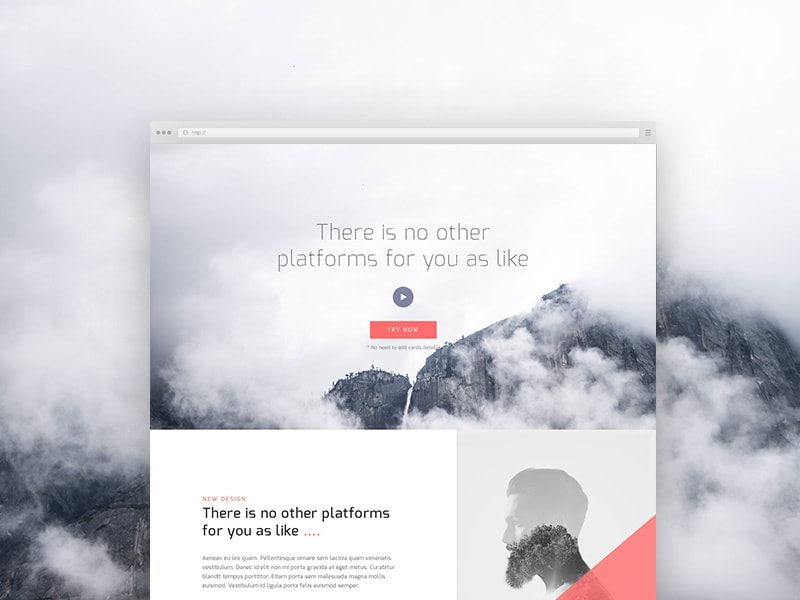 free-psd-corporate-landing-page