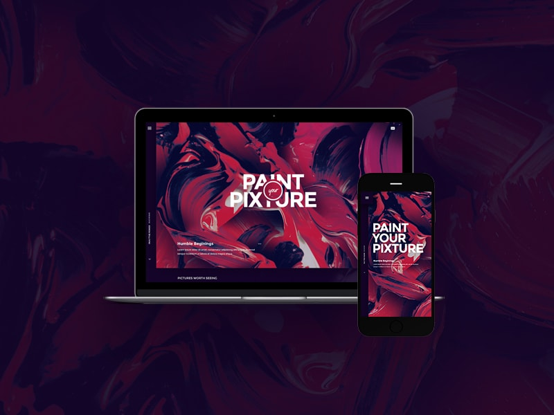free-website-psd-home-page