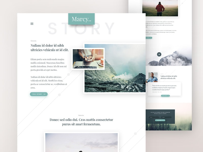 marcy-personal-story-blog-free-psd