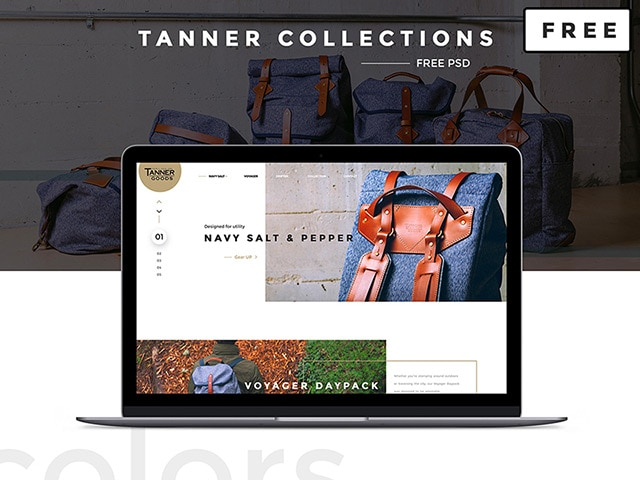 tanner-collections-free-psd-ecommerce-template