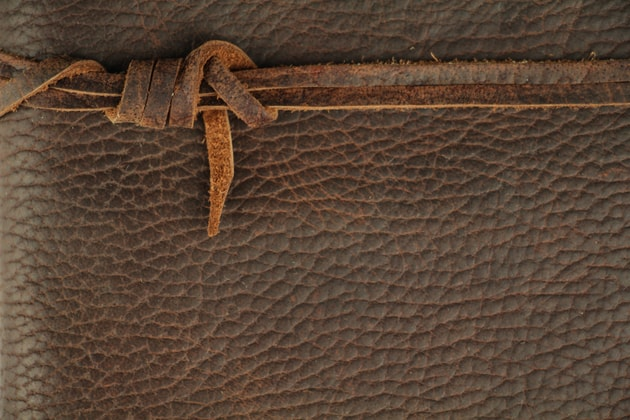 tied rope leather texture