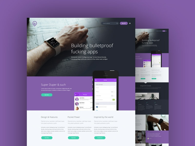 tork-free-psd-website-template