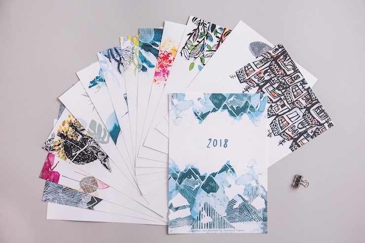 big-calendar-2018-illustrated-wall