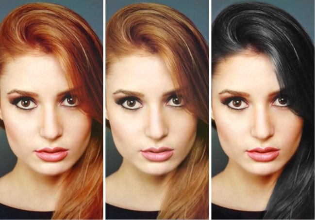change-hair-color-photoshop