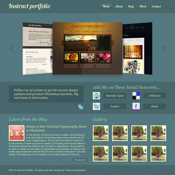 create-an-elegant-portfolio-web-design-in-photoshop