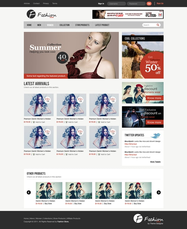 design-a-clean-e-commerce-website-interface-in-photoshop